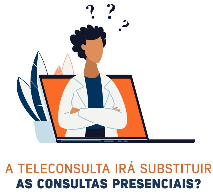 A teleconsulta irá substituir as consultas presenciais?