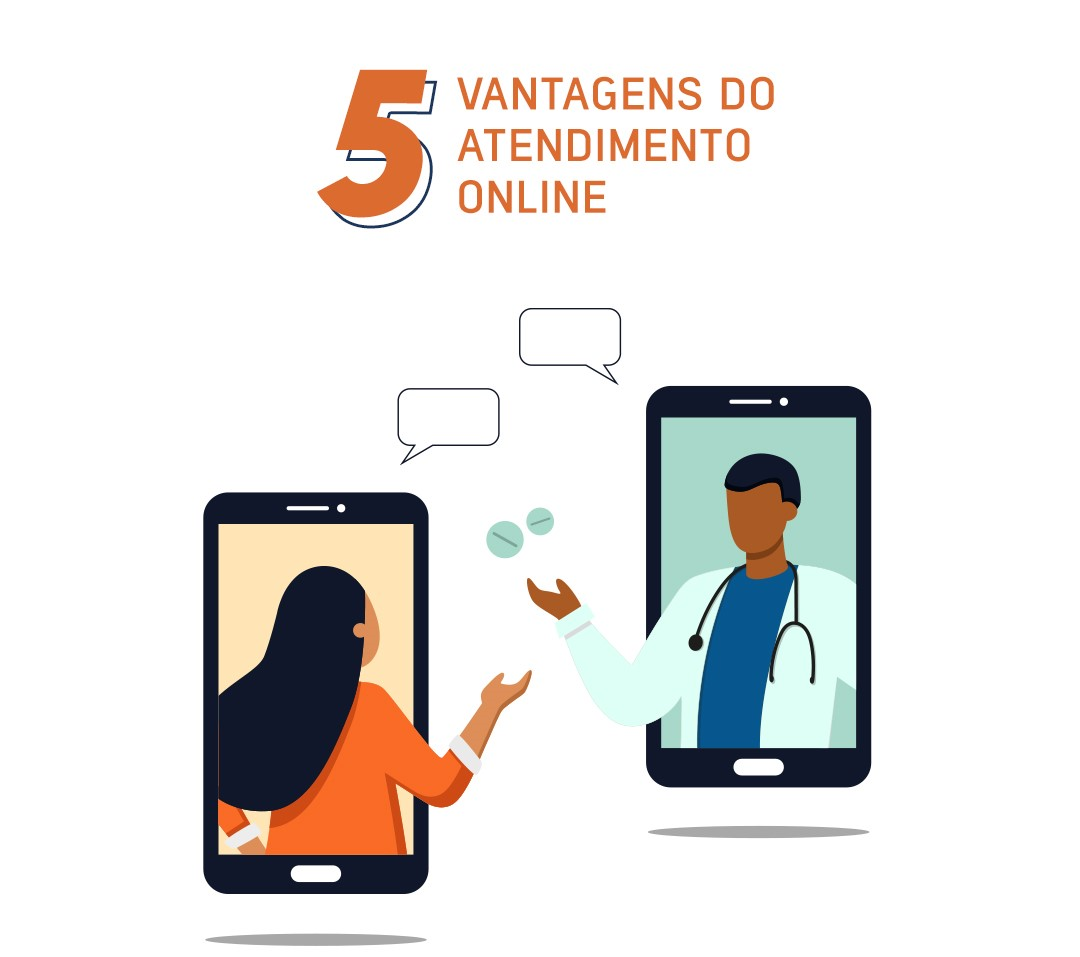 5 vantagens do atendimento online