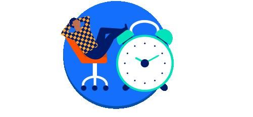 Estabelecer um horário de trabalho e se comprometer a segui-lo;