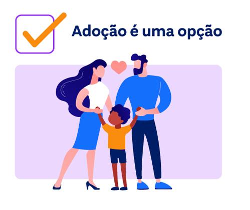 adoção é uma opção para o planejamento familiar