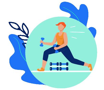 Pratique atividades físicas Atividades físicas promovem inúmeros benefícios para a saúde. Desde a prevenção de doenças cardiovasculares – a principal causa de morte no Brasil e no mundo – até o aumento de energia e melhora na qualidade do sono. Se você ainda não se sente confortável ou seguro para sair de casa, reunimos algumas dicas de exercícios que podem ser praticados