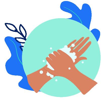 Cuide da sua higiene pessoal O simples ato de lavar as mãos pode nos livrar de várias doenças contagiosas, virais e bacterianas. Além da temida COVID-19, doenças como hepatite, gripe, micose, conjuntivite e até mesmo diarreias podem ser evitadas com a limpeza correta das mãos. Os cuidados com a higiene também compreendem o restante do corpo, a boca – garantido a prevenção de cárie e outras doenças – e objetos que manuseamos constantemente, como celular, por exemplo. Pesquisadores da Universidade do Arizona, nos Estados Unidos, realizaram um estudo que sugere que os dispositivos móveis, como celulares, carregam até dez vezes mais bactérias do que um vaso sanitário.