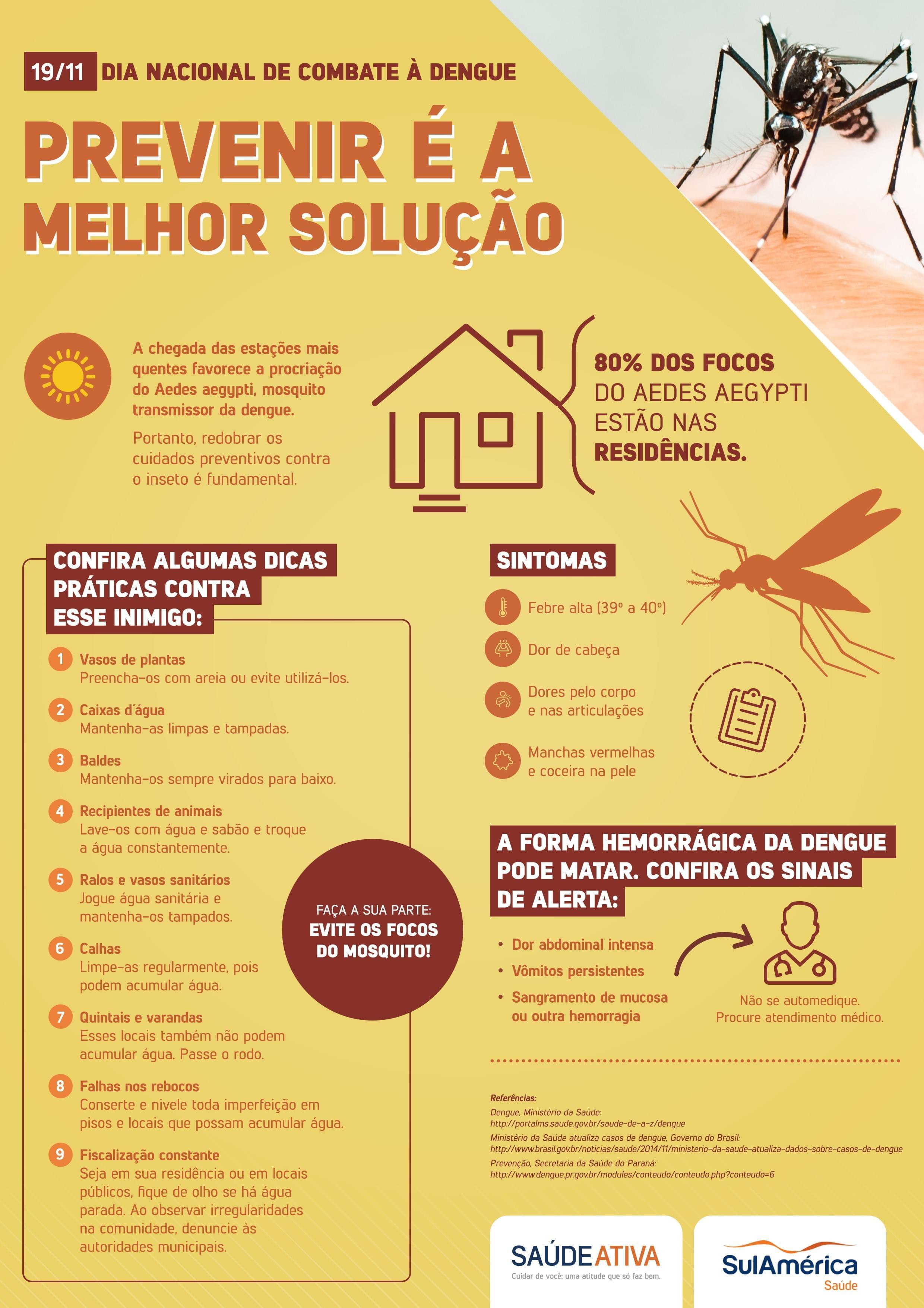 Dengue: previna-se