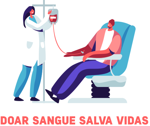 Doar sangue salva vidas