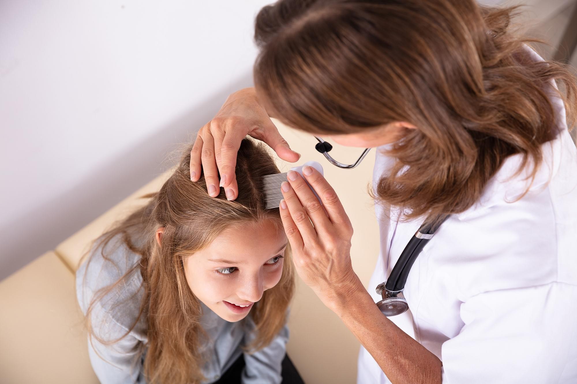 Doenças de Pele em Cabelo e Criança