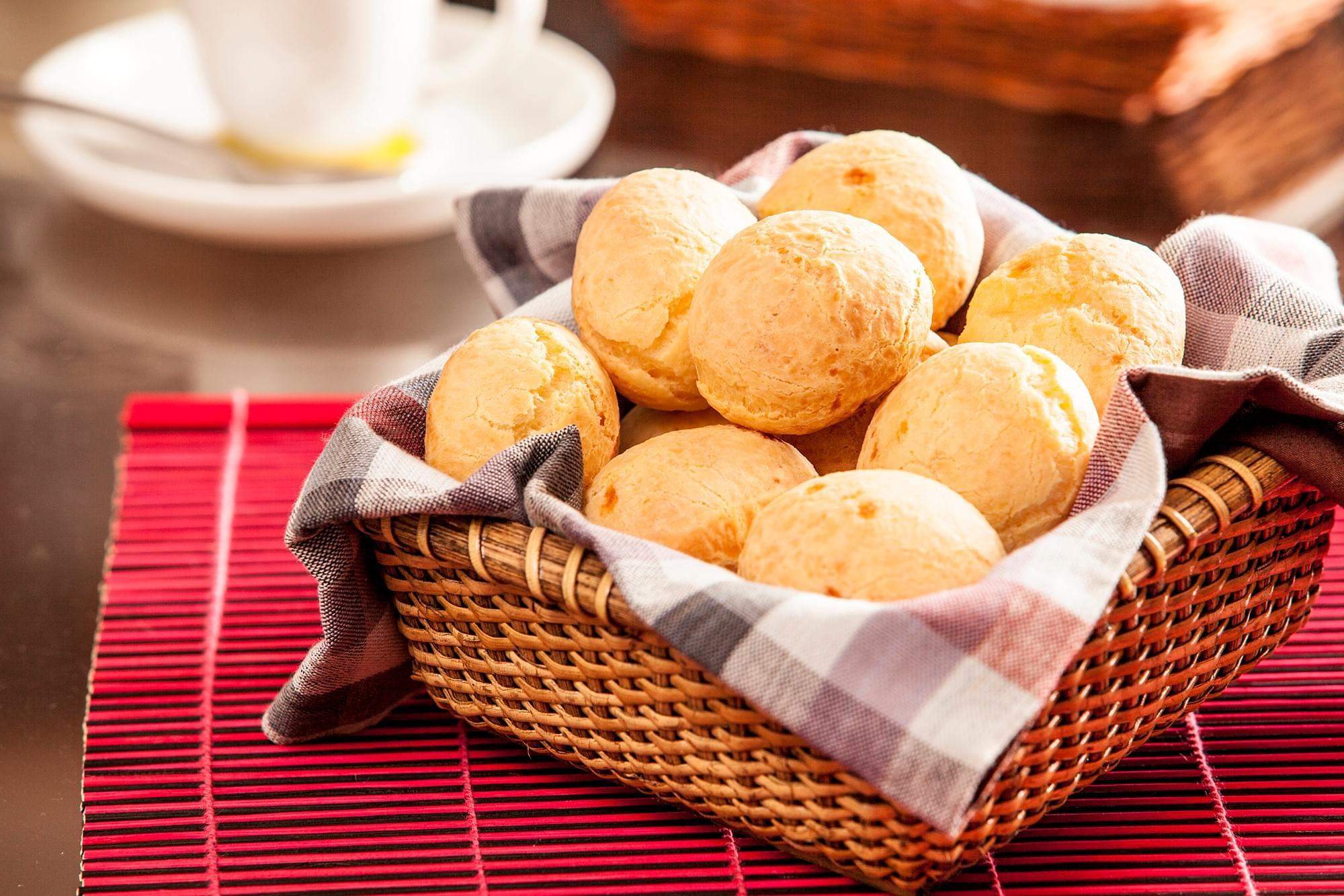 Pão de Queijo Inhame